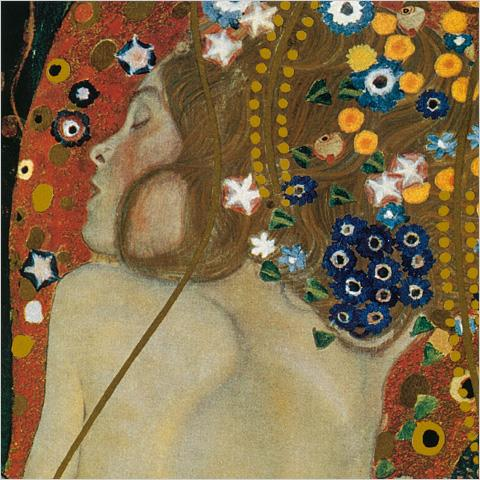 klimt--serpents-d-eau