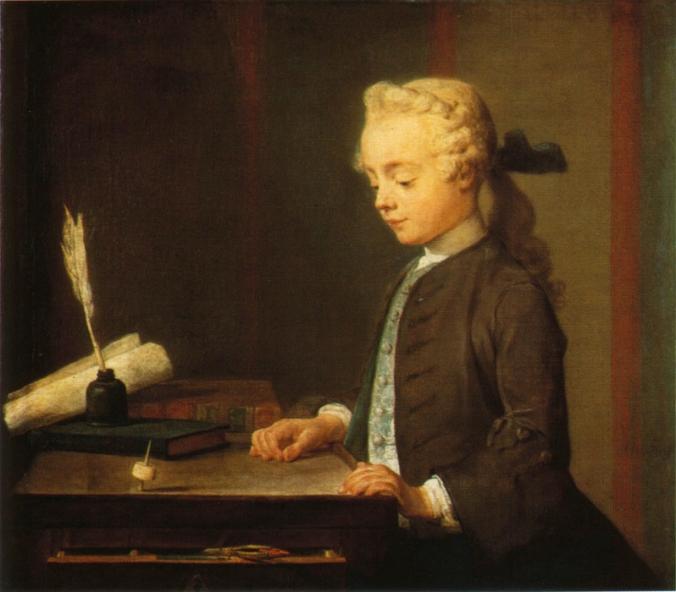 Chardin--enfant-au-toton--vers-1736-