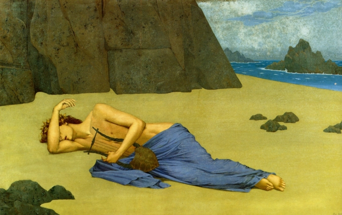 1896_Alexandre_Seon_Lamentation_d_Orphee_Lamentation_of_Orphee
